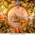 stock-photo-bologna-italy-march-ceiling-fresco-in-the-palazzo-pepoli-campogrande-museum-drawing-of-2