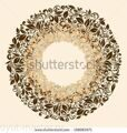 stock-photo-round-frame-from-floral-pattern-in-vintage-style-158083571