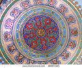 stock-photo-istanbul-turkey-october-ceiling-decoration-of-topkapi-palace-on-october-in-istanbul-3699