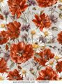 stock-photo-shabby-watercolor-vintage-floral-seamless-pattern-with-blooming-red-poppies-chamomile-la